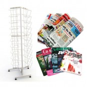 Торговые стойки для прессы и журналов